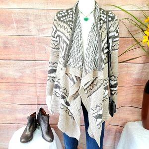 Abercrombie & Fitch soft knit drape boho cardigan